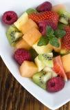 Gluten Free Fresh Seasonal Fruit Mix Royalty Free Stock Photo