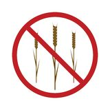 Gluten Free Icon Stock Images