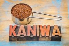 Gluten free kaniwa grain Stock Photos