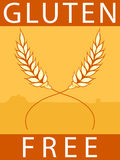 Gluten Free Label Royalty Free Stock Photography