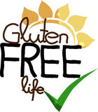 Gluten free life Royalty Free Stock Photos