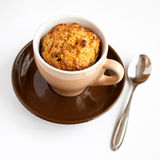 Gluten free muffin in cup Royalty Free Stock Image