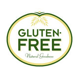 Gluten-Free Natural Goodness Logo Icon Symbol Royalty Free Stock Image