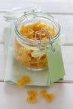 Gluten free pasta Stock Images