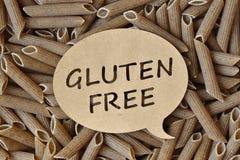 Gluten-free pasta. Texture background of raw gluten-free pasta Royalty Free Stock Photography