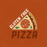 Gluten free pizza Royalty Free Stock Images
