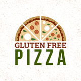 Gluten free pizza Stock Photography