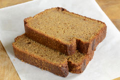 Gluten free pumpkin loaf Stock Photo