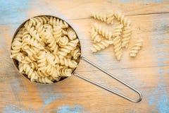 Gluten free quinoa fusilli pasta Stock Photos