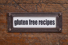 Gluten free recipes Stock Photos