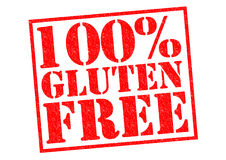 100% GLUTEN FREE Royalty Free Stock Photography
