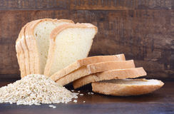 Gluten free rice sour dough bread Royalty Free Stock Image