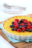 Gluten free Ricotta cheesecake Royalty Free Stock Photo