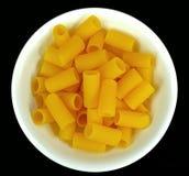 Gluten free rigatoni pasta Stock Images