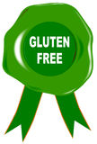 Gluten Free Seal Royalty Free Stock Photography