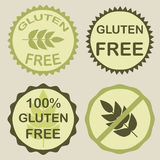 Gluten Free Seals Royalty Free Stock Images