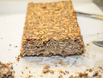 Gluten free seed and nut bread Stock Photo