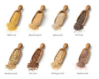 Gluten free seeds Stock Images