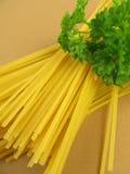 Gluten-free spaghetti Stock Images