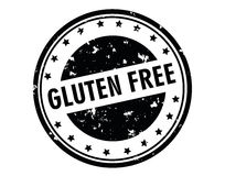 Gluten free stamp Royalty Free Stock Image