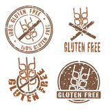 Gluten Free Stamps Stock Image