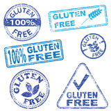 Gluten Free Stamps vector illustration