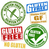 Gluten free stamps Royalty Free Stock Images
