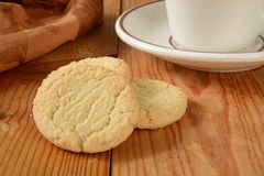 Gluten free sugar cookies Stock Photography