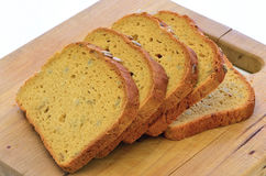 Gluten free sunflower seed bread Royalty Free Stock Image