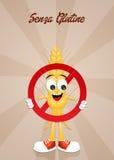 Gluten free symbol Stock Image