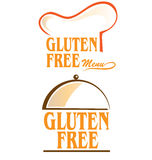 Gluten free symbol set Royalty Free Stock Photos