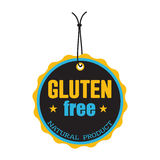 Gluten free tag Stock Photography