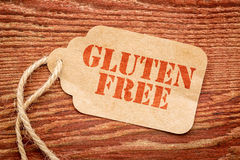 Gluten free tage price Royalty Free Stock Photos