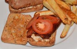 Gluten-freie Mahlzeit lizenzfreies stockfoto