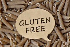 Gluten-fri pasta Royaltyfri Fotografi