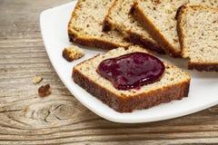 Gluten frigör bröd Arkivfoton