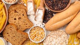 Gluten frigör mat royaltyfri foto