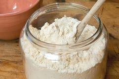 Gluten-fritt mjöl Arkivbilder