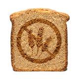 Gluten geben Brot frei Lizenzfreie Stockfotografie