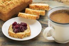 Gluten geben Frühstück frei lizenzfreies stockfoto