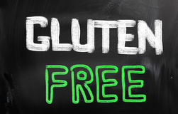 Gluten geben Konzept frei Stockbilder