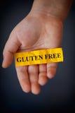 Gluten geben Konzept frei Lizenzfreies Stockbild