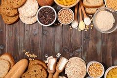 Gluten geben Nahrung frei stockfotografie