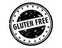Gluten geben Stempel frei Lizenzfreies Stockbild