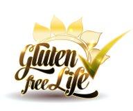 Gluten uwalnia royalty ilustracja