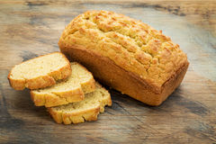 Gluten uwalnia chleb fotografia stock