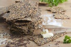 Gluten uwalnia crispbread Zdjęcia Stock