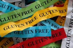 Gluten uwalnia pojęcie obrazy royalty free