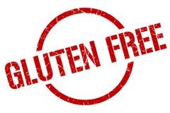 Gluten uwalnia znaczek ilustracji