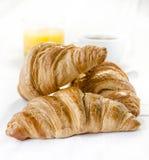 Gluten-vrije Croissants Royalty-vrije Stock Afbeeldingen